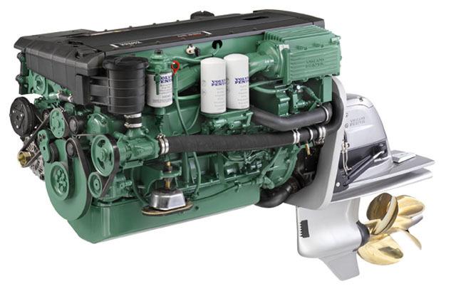 Volvo Penta turbomotor